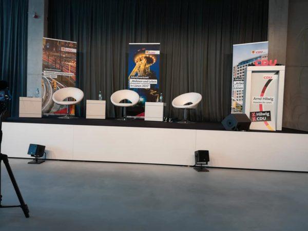 Gast bei der Talk Runde der CDU in Lünen
